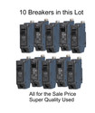 10 Breakers in this Lot for one Price