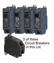 5 breakers in this Lot