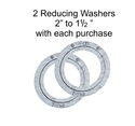 "2"" to 1-1/2"" 2 washer each lot"
