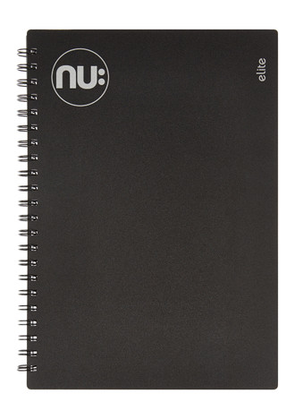 Nu Elite Black PP Notebook