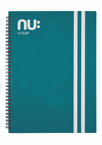 Nu Craze Varsity Hardback Notebook