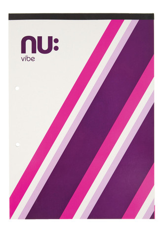 Nu Vibe Prism A4 Refill Pad Pink