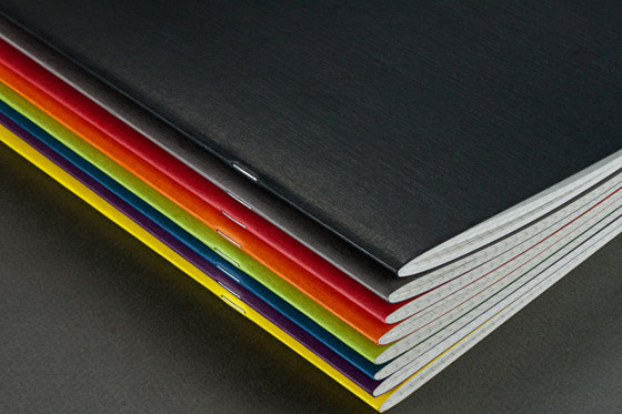 Fabriano Staple Bound Notebook - Assorted