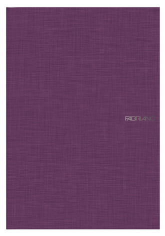 Fabriano Long Side Glued Notebook - Purple