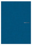 Fabriano Long Side Glued Notebook - Blue