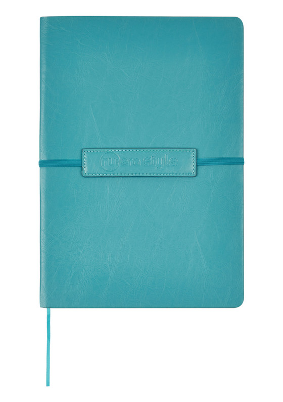 Nu Era Style Soft Flexible PU Cover Elastic Journal Pink Mint Blue