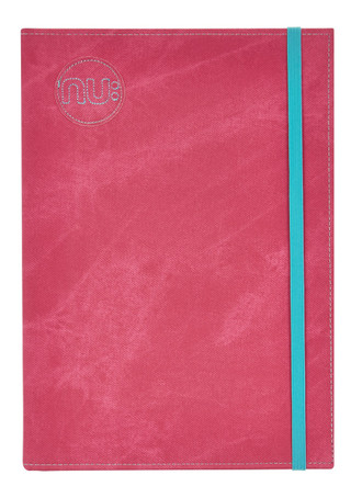 Nu: Denim Casebound Journal - Pink