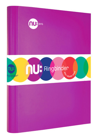 Nu: Craze Brights Ringbinder - Purple