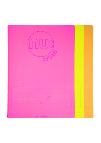 Nu: Craze Glow A5 Stitched Notebook