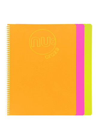 Nu: Craze Glow Spiral Notebook