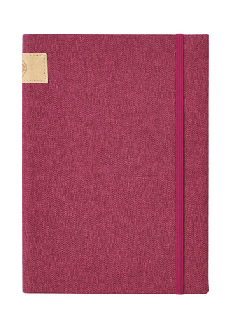 Nu: Journal Linen - Plum