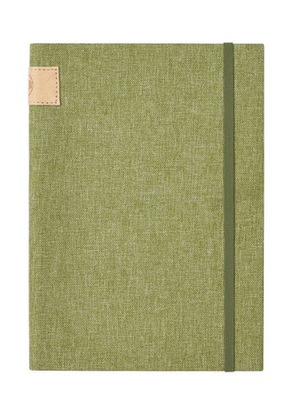 Nu: Journal Linen - Light Green