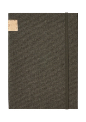Nu: Journal Linen - Dark Green