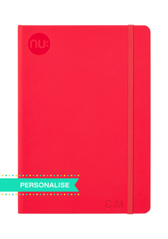 Nu: Spectrum Journal - Red (Personalise)
