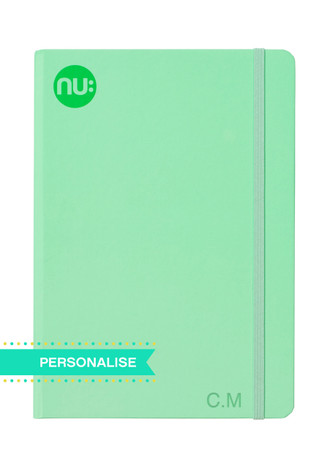 Nu: Spectrum Journal - Green(Personalise)