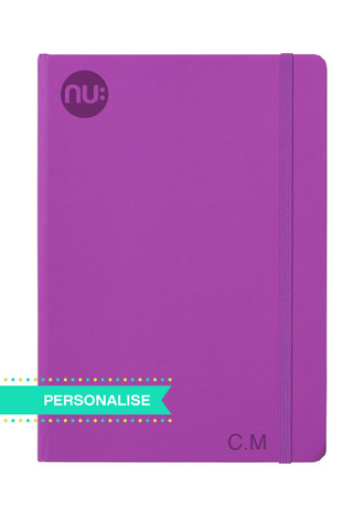 Nu: Spectrum Journal - Purple (Personalise)
