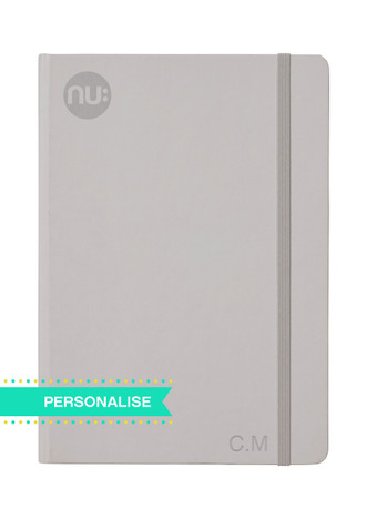 Nu: Spectrum Journal - Grey (Personalise)