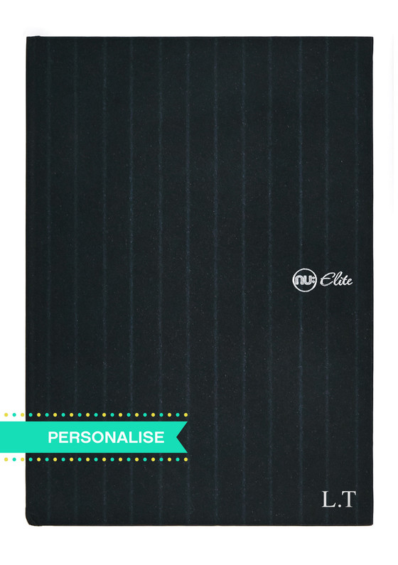 Nu Elite Savile Row Hardback Notebook - A4