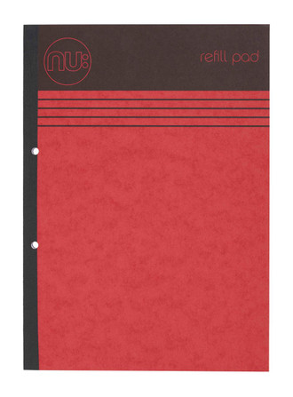 Red A4 Refill Pad