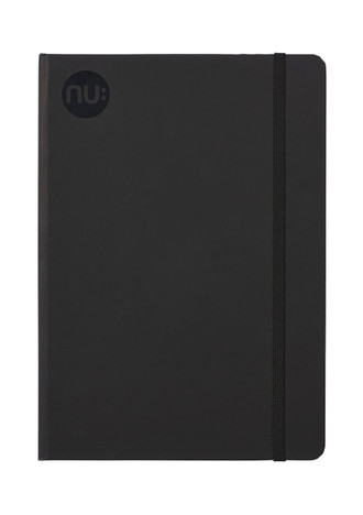 Nu: Spectrum A5 & B5 Journal - Black