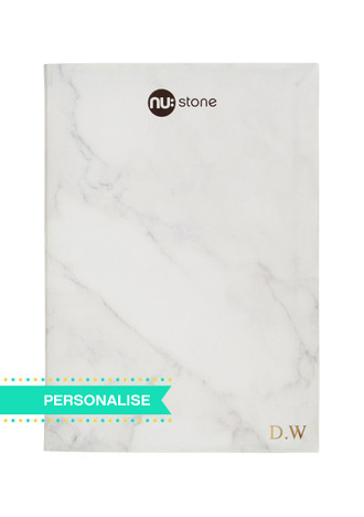 Nu: Stone Flexi Journal (Personalise)