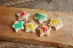 Holiday Sugar Cookies (aprox 36 pieces)  $18.00