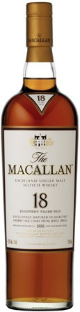 MACALLAN SCOTCH 18 YEAR (750 ML)