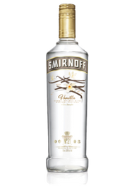 SMIRNOFF VANILLA VODKA (750 ML)