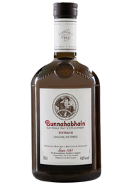 BUNNAHABHAIN SCOTCH SINGLE MALT TOITEACH UNCHILLED 92PF (750ML)