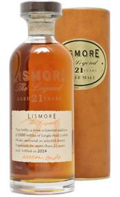 Lismore Single Malt Scotch 21 Year The Legend (750mL)