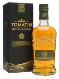 TOMATIN 12 YEAR OLD BOURBON & SHERRY CASKS (750ML)