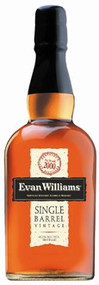EVAN WILLIAMS SINGLE BARREL BOURBON (750 ML)