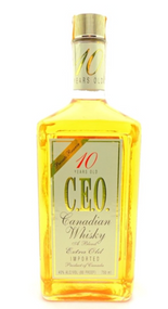 CEO CANADIAN WHISKY 10 YEARS OLD PRIVATE RESERVE 750ML