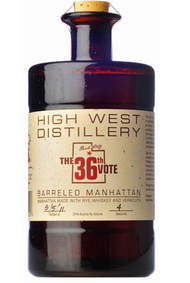 HIGH WEST THE 36TH VOTE 750ML