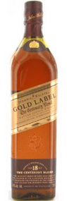 JOHNNIE WALKER GOLD LABEL CENTENARY BLEND 18 YEAR OLD 750ML