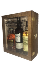 John Dewar & Sons Fine Whiskey Emporium Cigar Humidor Gift Box(3 X 750mL)