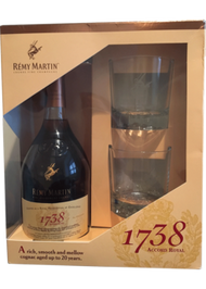 REMY MARTIN 1738 GIFT SET (750ML)