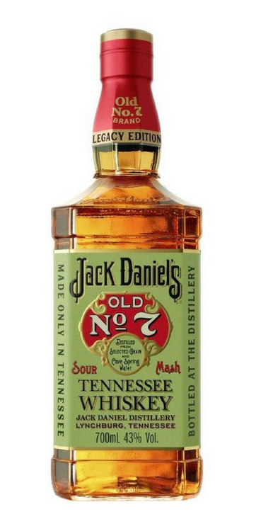 JACK DANIEL'S LEGACY EDITION 750ML