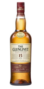 Glenlivet 15 Yr Single Malt Scotch (750 ML)