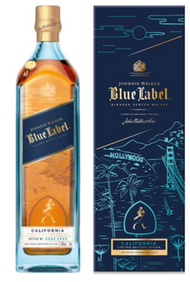 Johnnie Walker Blue Label California Limited Edition Design 2019