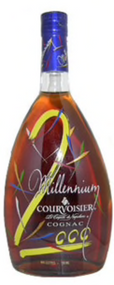 COURVOISIER MILLENNIUM COGNAC MINATURE BOTTLE (50ML)