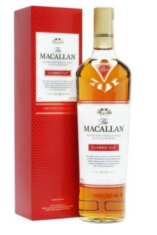 MACALLAN SCOTCH SINGLE MALT CLASSIC CUT LIMITED 2018 EDITION