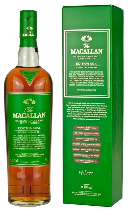 MACALLAN SCOTCH SINGLE MALT EDITION NO.4