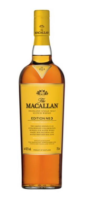THE MACALLAN EDITION NO. 3 SINGLE MALT SCOTCH WHISKY (750ML)