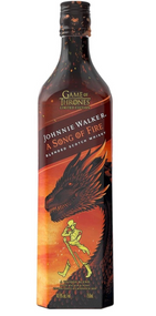 JOHNNIE WALKER SCOTCH BLENDED A SONG OF FIRE GAME OF THRONES EDITION 750ML