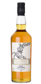 "Royal Lochnagar 12 Year Old ""Game of Thrones House Baratheon"" Highland Single Malt Scotch Whisky (750ml)"
