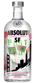 Absolut San Francisco Limited Edition Vodka (750ml)
