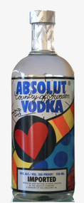 Absolut Vodka 2003 Romero Britto