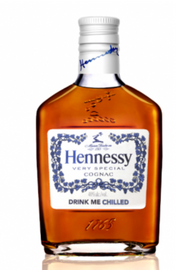 HENNESSY VS EXPERIENCE THE CHILL  (200ML)