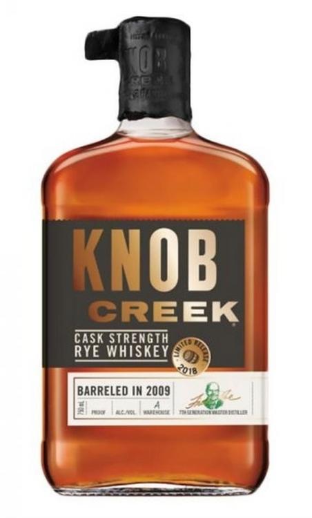 Knob Creek Cask Strength Rye Whiskey Barreled 2009